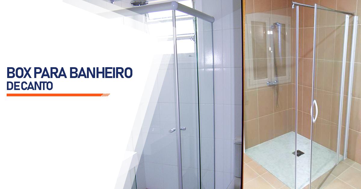 Box de Canto para Banheiro  Indaiatuba