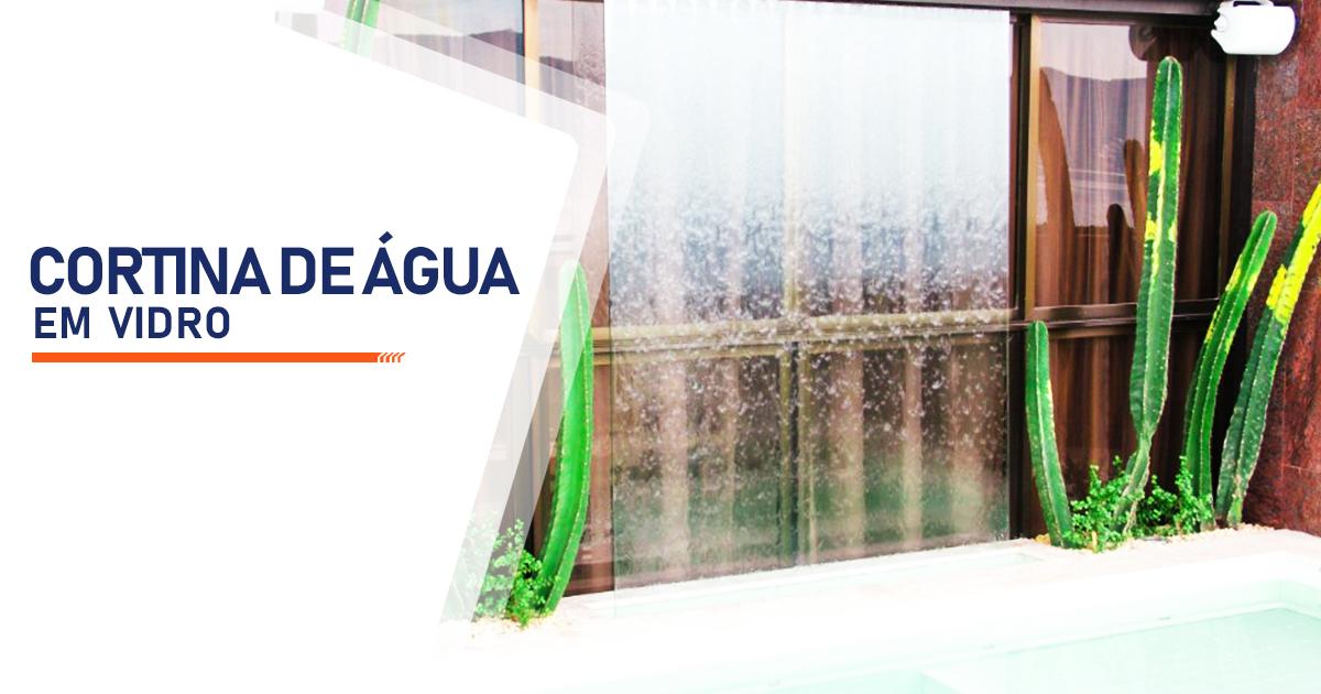 Cortina de Agua em Vidro Indaiatuba