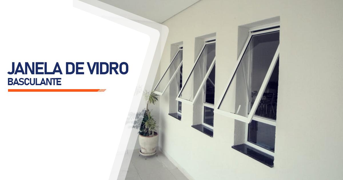 Janela De Vidro Basculante Indaiatuba