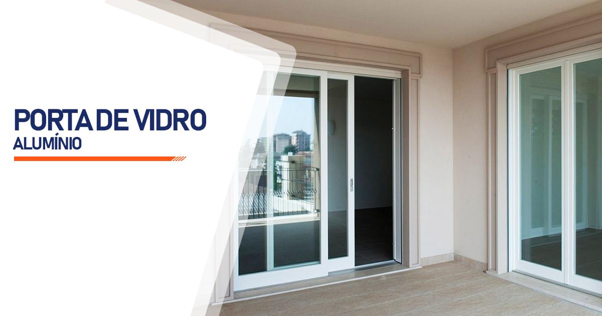 Porta De Vidro Aluminio Indaiatuba